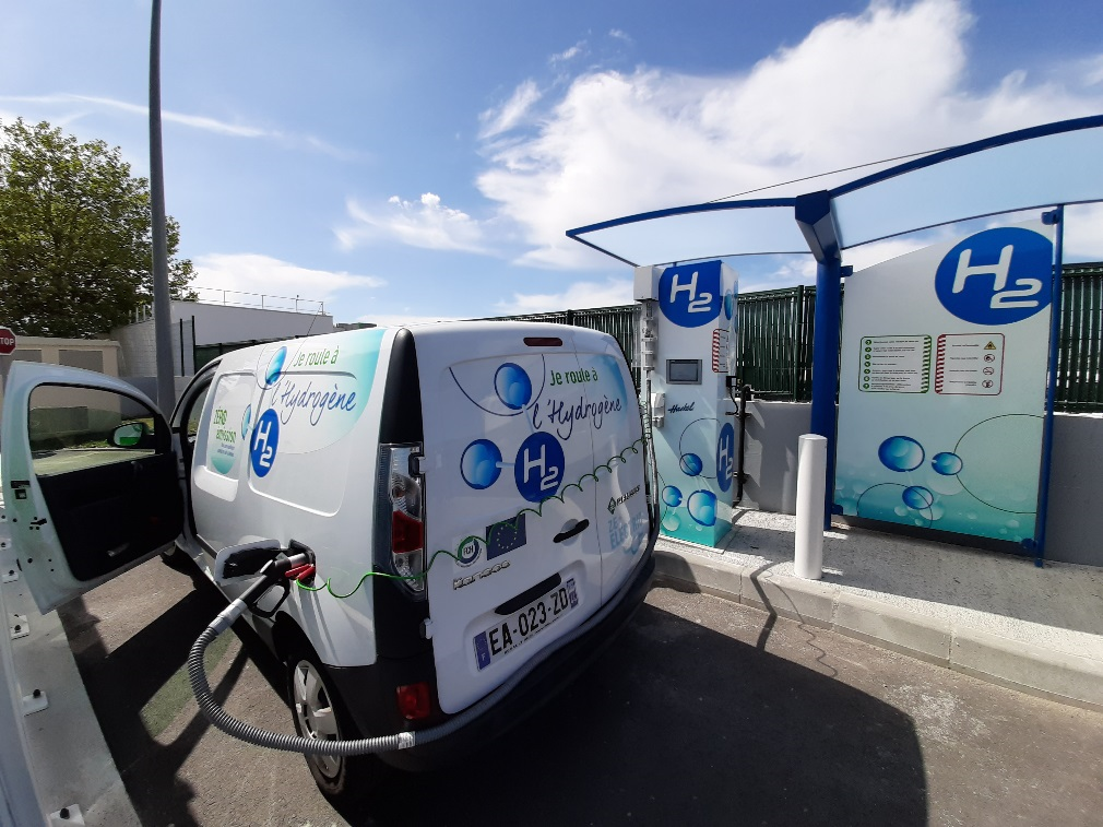 Customized dispensers at Haskels latest HRS deployment Nantes France