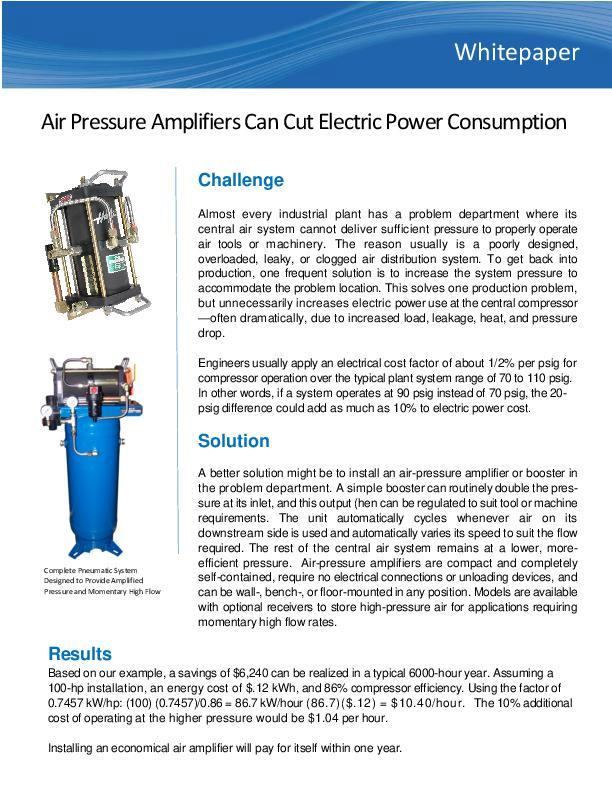 air-pressure-amplifiers-can-cut-electric-power-consumption